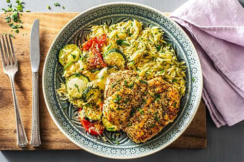 Winner-Winner Chicken Orzo Dinner