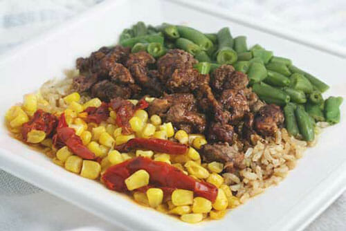 Beef with Smoky Barbecue Sauce