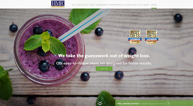 hmr program homepage