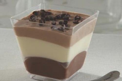 Chocolate Trio Parfait