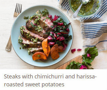 steaks-with-chimichurri-and-harissa-roasted-sweet-potatoes