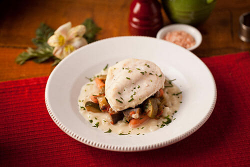 frencinsh pired chicken normandy