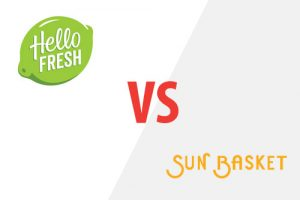 Hello Fresh VS Sun Basket