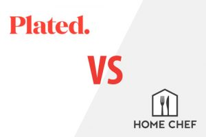 Plated VS Home Chef