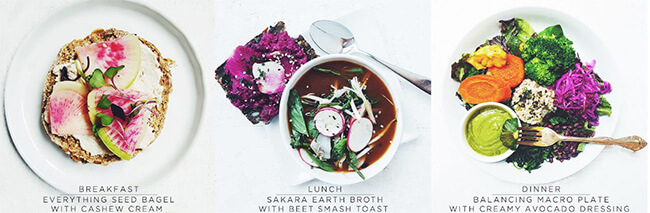 Sakara Life Meal and Recipes