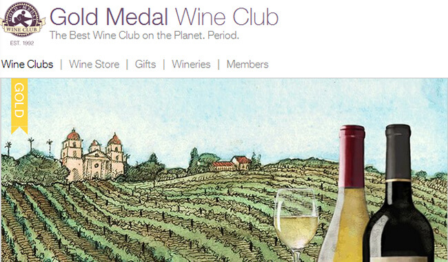 gold medal wine homepage