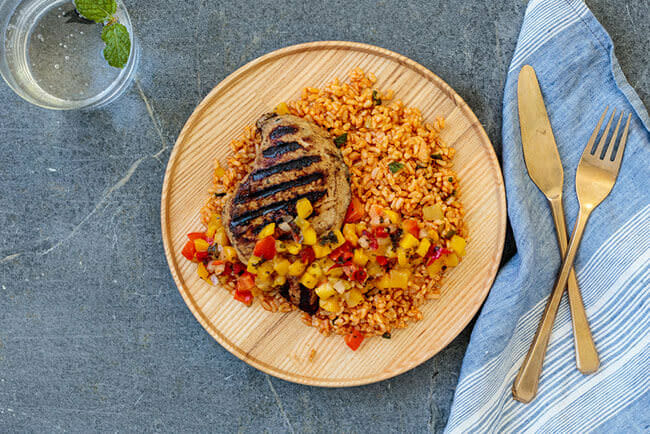 jamaican meal image