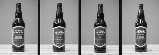 Noble Brewer Beers