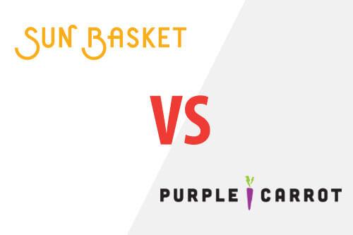 Sun Basket Vs. Purple Carrot