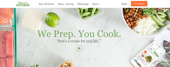 Terra's Kitchen Homepage