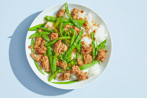 Crispy Honey Pork Stir Fry