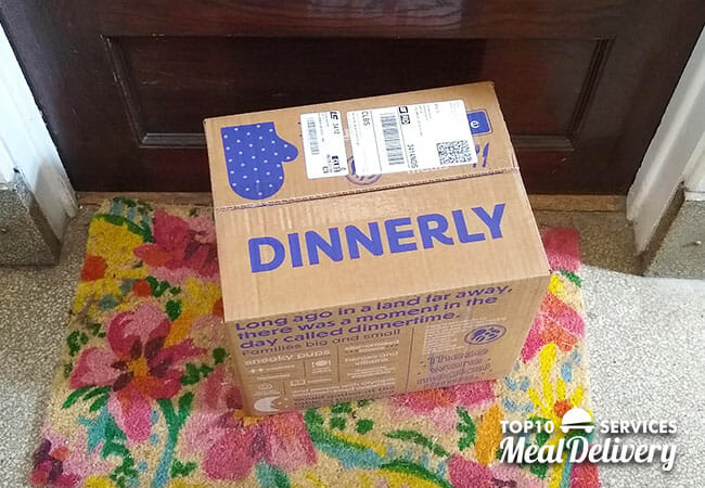 dinnerly box delivered