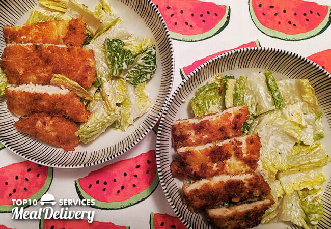 dinnerly crispy chicken cutlet