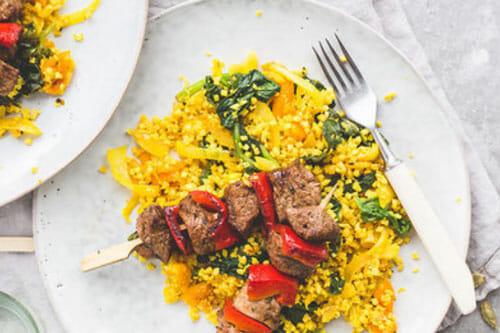 Lamb Tikka Kebabs