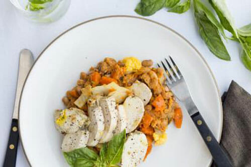 Paleo Chicken Meal