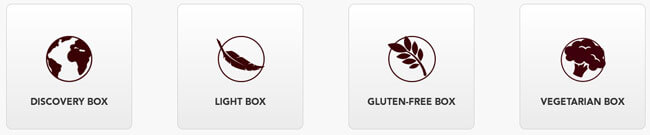 SimplyCook recipes box
