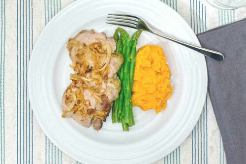 Applesauce Pork Tenderloin