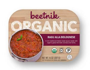 Beetnik Foods organic meal