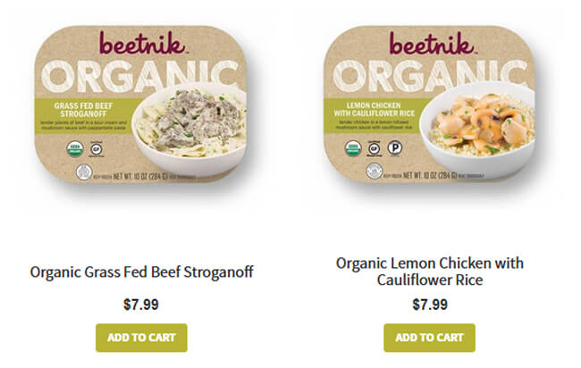 Beetnik Foods price