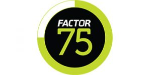 Factor 75 logo