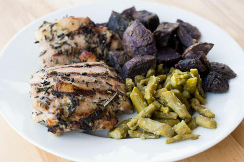 Honey Rosemary Chicken