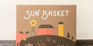 sun basket delivery box