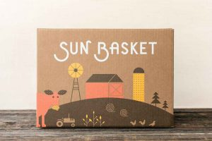 sun basket delivery box