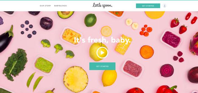 Little Spoon homepage