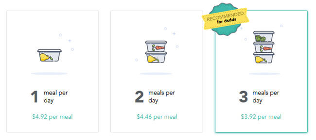 Little Spoon pricing