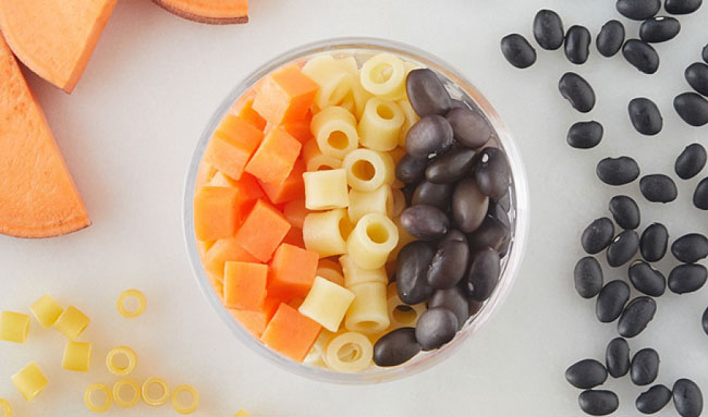 Nurture Life black bean sweet potato pasta