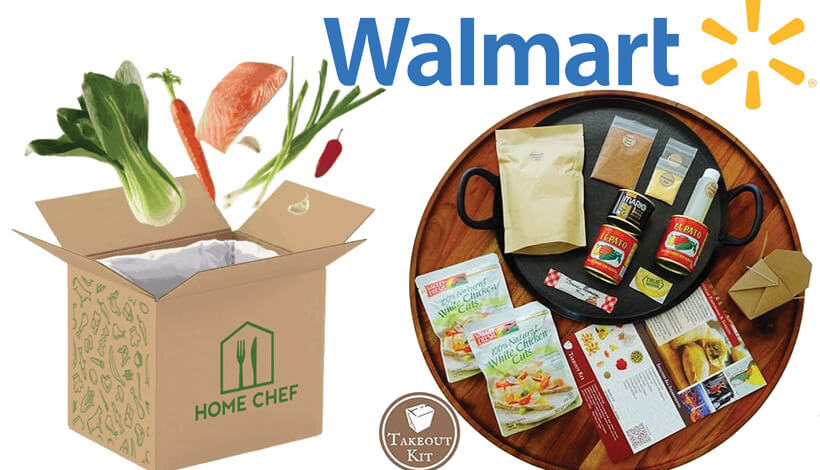 Takeout Kit And Home Chef Available At Walmart