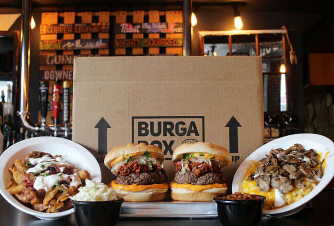 BurgaBox burgers