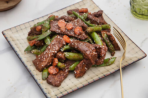 Filipino Adobo Beef & Vegetable Stir fry