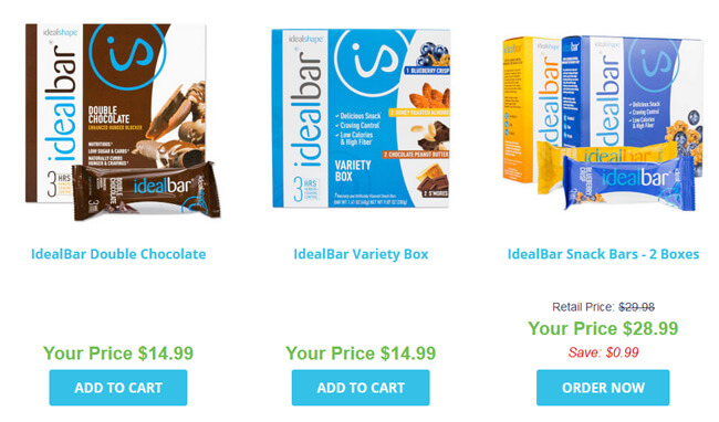 IdealShape pricing