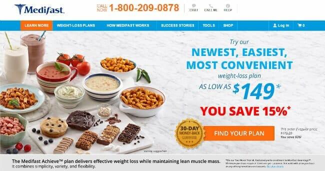 Homepage medifast