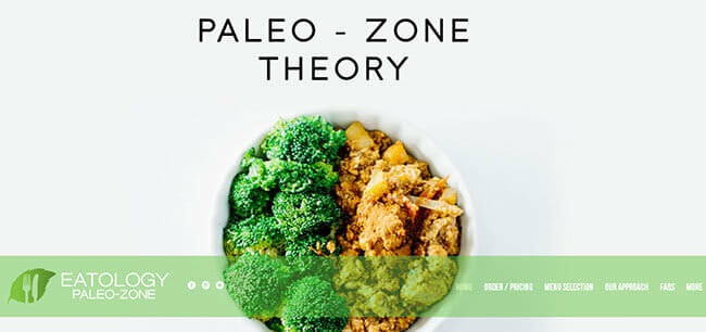 homepage Eatology Paleo Zone
