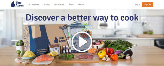 homepage blue apron