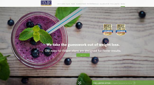 homepage hmr program