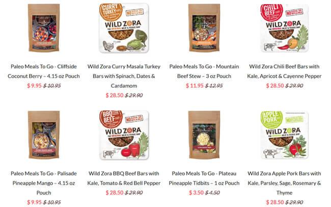 Wild-Zora-meals