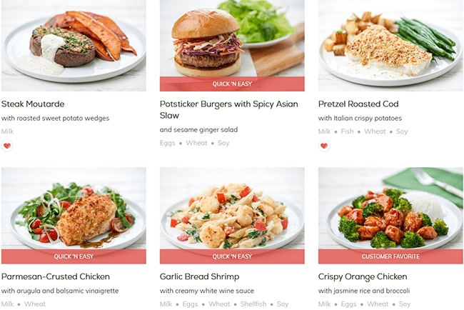 Home Chef Now Offering More Than 60 Recipes