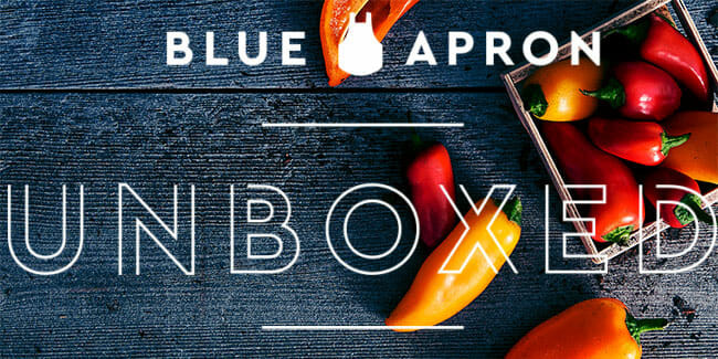 Blue Apron Unboxed