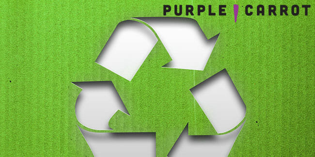 Purple Carrot Now Using 100% Curbside Recyclable Packaging