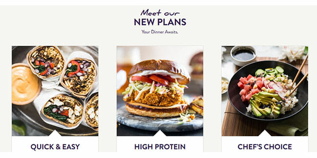 Purple Carrot 3 Brand New Meal Plans