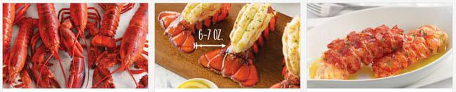 Lobster Gram meals