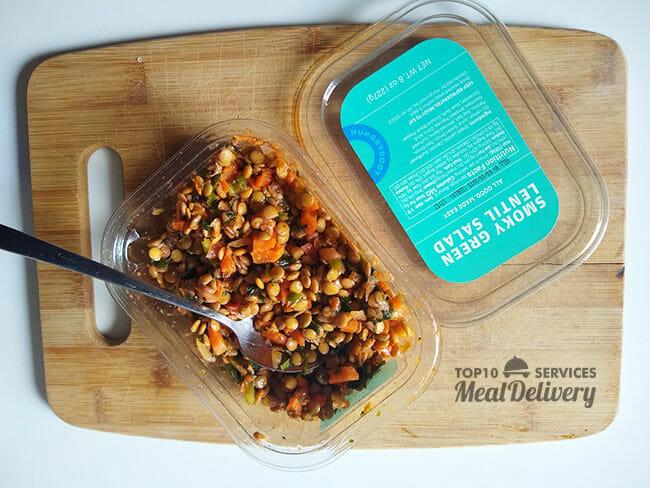 hungryroot lentil salad