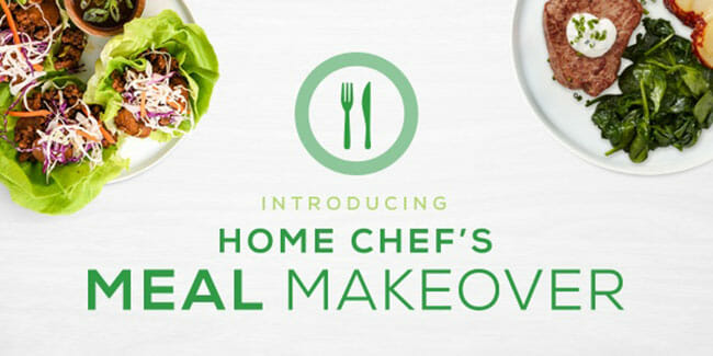 Home Chef Introduces Its Meal Makeover Competition