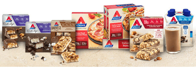 Atkins Meal Delivery product