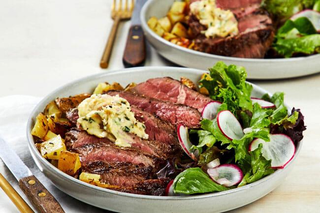 EveryPlate Dijon-Butter Steak