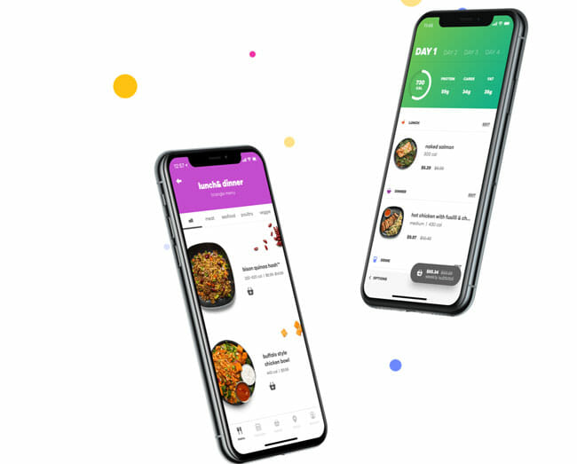 Snap Kitchen smart phone app