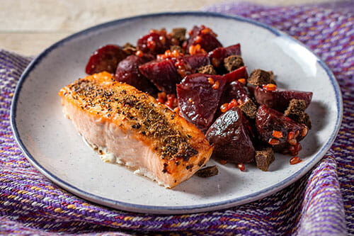 Pastrami Spiced Salmon